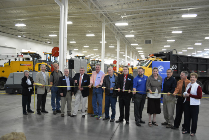 Oshkosh ribbon cutting
